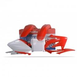 Kit Plástico CRF 450 2004 C/NUMBER (VERMELHO)