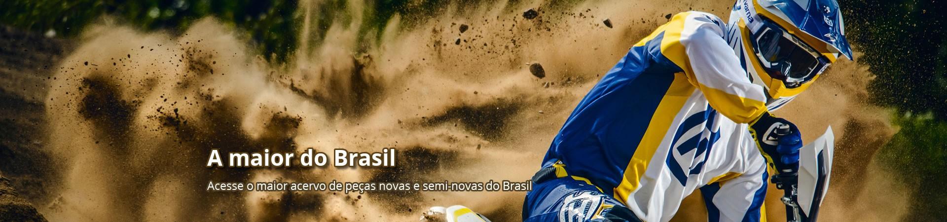 Conheça o estoque de peças novas e usadas do Brasil