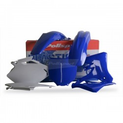 Kit Plástico YZF 250/450 03-05 C/Number Plate AZUL